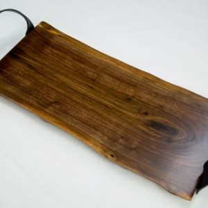 Live Edge Black Walnut Charcuterie Board