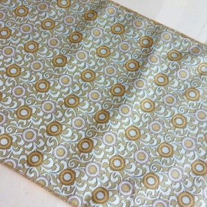 Gorgeous Table Runner - Gold-Tone & Silver-Tone, FREE SHIPPING, Made in America