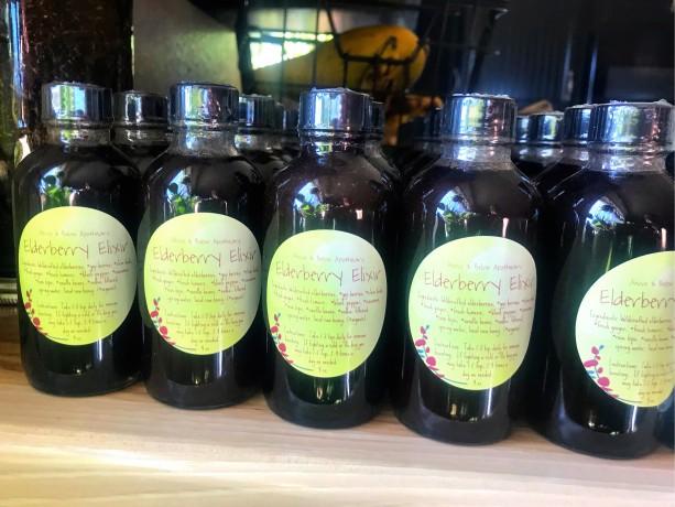 Elderberry Elixir 4 oz
