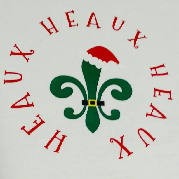 Cajun Christmas.Heaux Heaux Heaux Cajun Christmas Handmade Toddler T Shirt