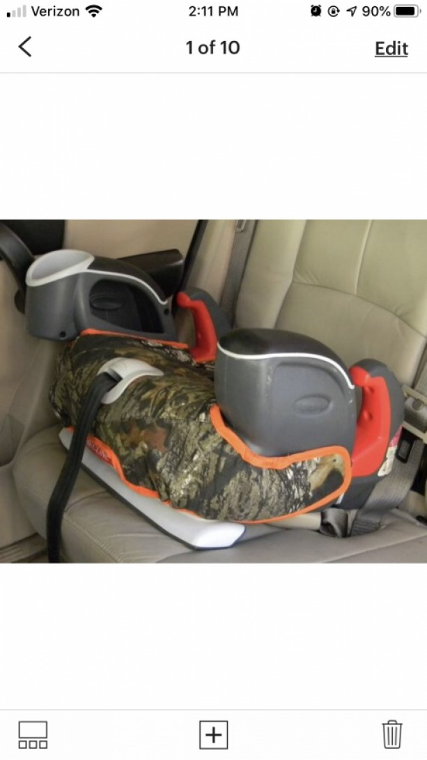 Car Accessories, Graco Nautilus Replacement Booster Seat Cover