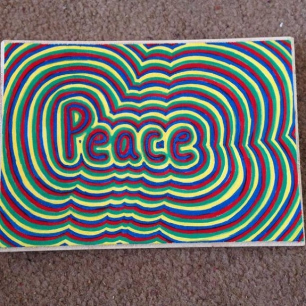 Peace word