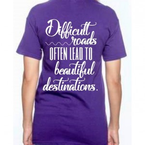 Difficult roads preemie mom shirt