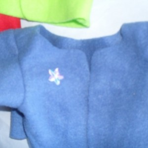 Fleece Jacket that fits Build a Bear Hello Kitty Handmade