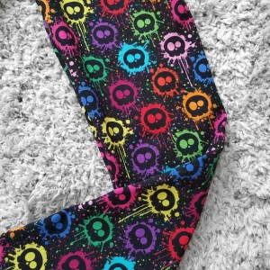 Rainbow Skulls adult womens teens leggings | Skull womens leggings | Women's fashion leggings | Women's clothing gifts | Rainbow leggings