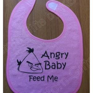 Star Trek Baby bib, Angry Birds bib, Baby Shower Gift, Christmas Gift, Personalized Gift,Tweetybird bib, Boy bib, Girl bib, Custom bib