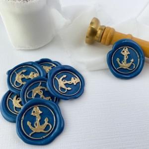 10 Pack: Anchor Wax Seals, Self Adhesive