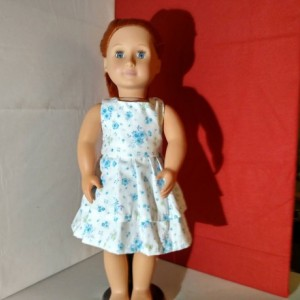 "Custom design a dress - 18"" doll clothes - Hand sewn, heirloom quality"