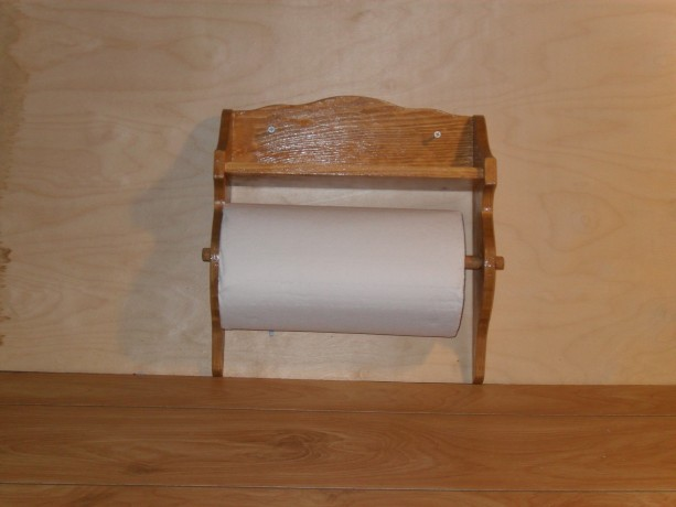 Paper towel rack