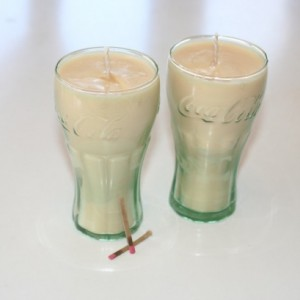2 Mini Root Beer Scented 6.5 oz Cream Soy Wax Candles