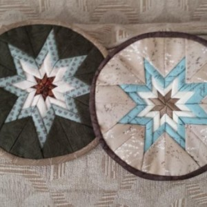 Handcrafted trivets