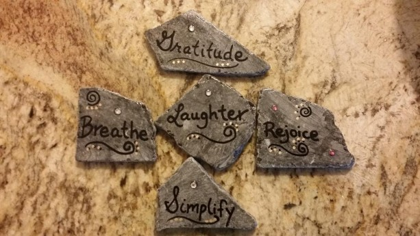 Inspirational rocks