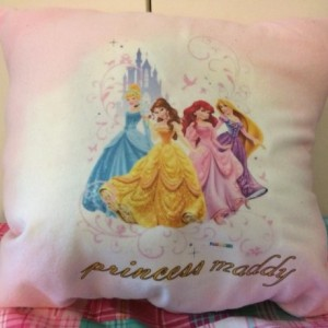 Disney Princess personalized pillows