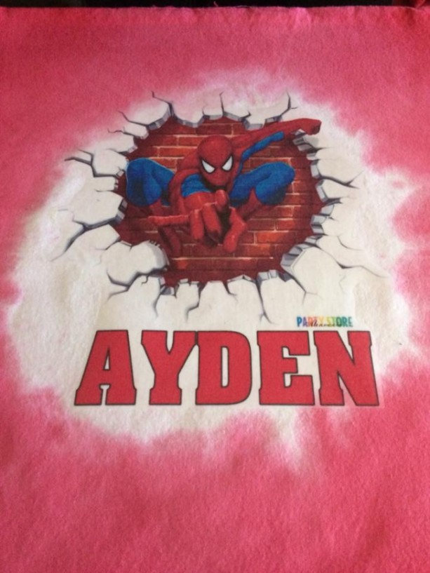 Spider-Man personalized pillows