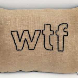wtf Pillow