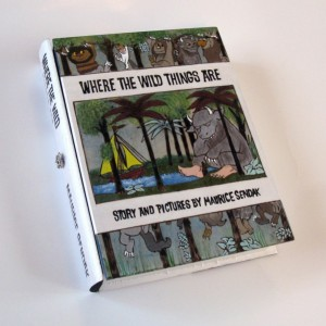 Where the Wild Things Are hideaway book box.  Beautiful, unique and hand decorated.