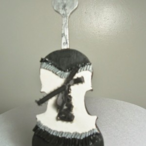 Tux and Tails (corset violin)