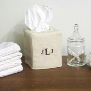 Personalized Tissue Box Cover