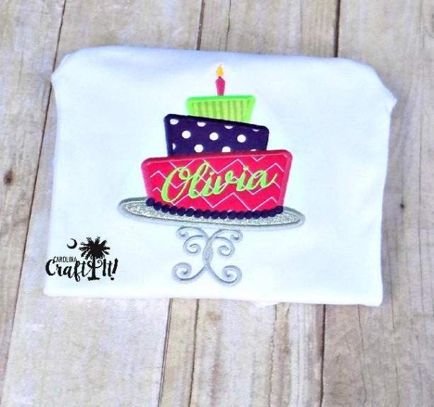 Birthday Cake Shirt For Girls Aftcra