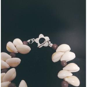 Natural Spiral Cowrie Shell Bracelet