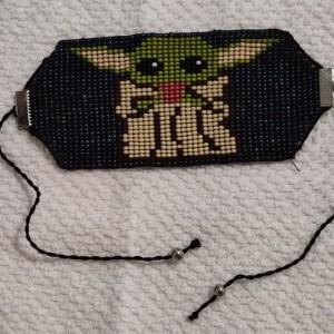 Handmade Ethnic Beaded Loom Bracelet The Child/ baby (GR32)