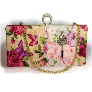 Box Clutch, Minaudiere Clutch, Clutch Evening Bag, Clutch Bride, Kiss Lock Clutch, Clutch Bridesmaid, Evening Clutch, Handmade Clutch Bag