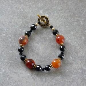 Carnelian Onyx Bracelet