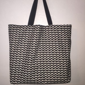 Large Canvas Shopping Tote, Beach Bag