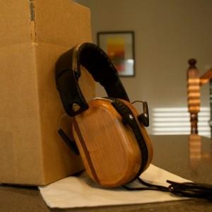 Reclaimed Wood Headphones