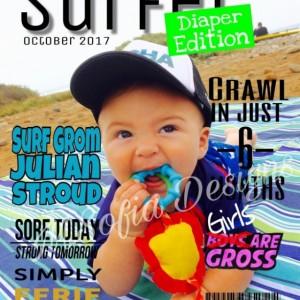 "Custom Made Magazine Covers (8x10"")"