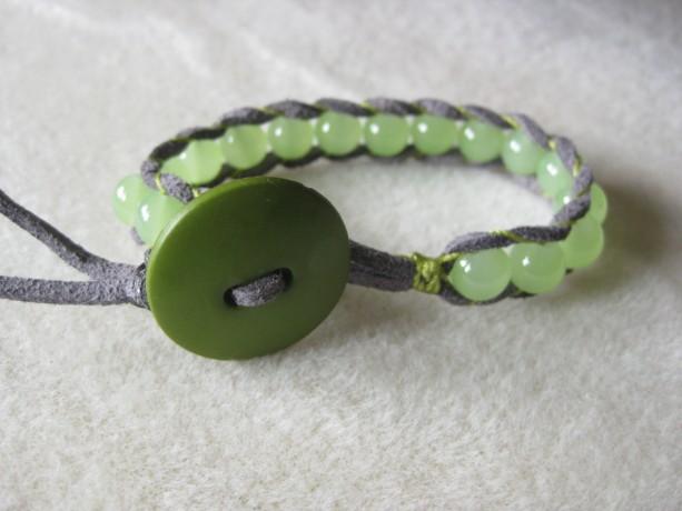 Soft leather wrapped bracelet Designer look without designer price tag LW3