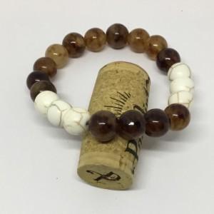 Natural jade beads, Jade Bracelet, brown jade bracelet, Brown Jade, Unisex bracelet, Brown Jade beautiful perfect for him or her