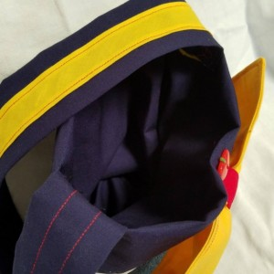 Fairest Of Them All-Fairy Tale inspired shoulder handbag,Eco-friendly reclaimed denim jean fully lined girl purses, handmade gift for girls,