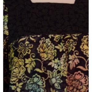 Colorful Women's Handmade Cotton Muumuu Shirt