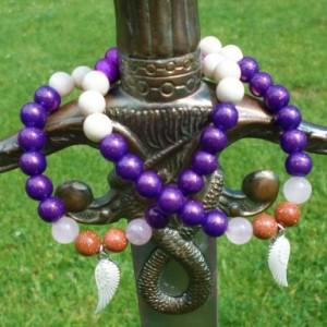 Angelous ( It means Angel in Latin) bracelets