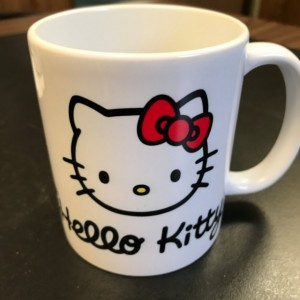 Custom Made Hello Kitty Coffee Mug