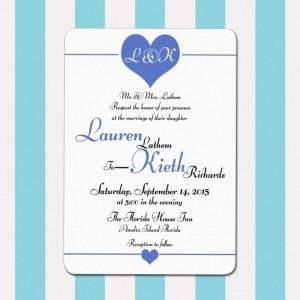 Printable Wedding Invitation, Purple and White, Whimsical and Elegant, Customizable, Calligraphy Invitation, Digital Invitation