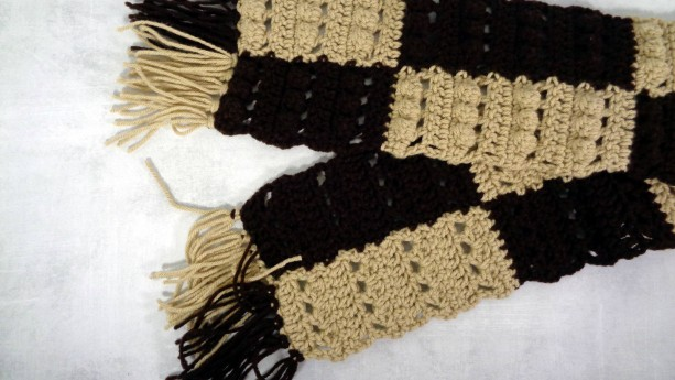 winter scarf - long scarf - Christmas gift - holiday gift - Gift under 100 - warm scarf - long warm scarf - warm winter scarf - brown scarf