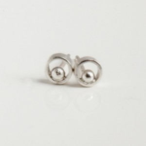 Amour Sterling Silver Studs