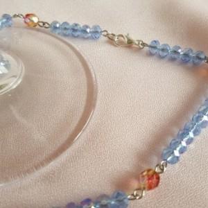 Venetian Blue Rosary Beads