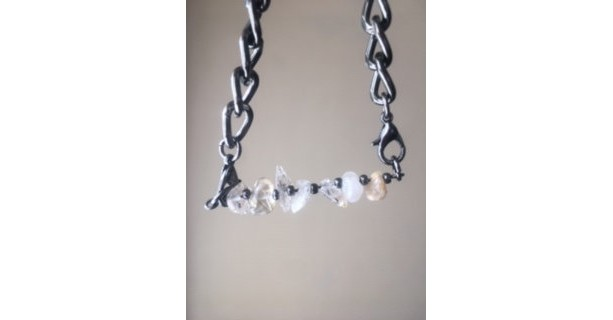 8 inch Rutilated Quartz Bracelet - Quartz Bracelet