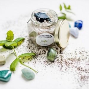 SURRENDER *Mystery Crystal* Peppermint Body Scrub