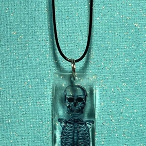 Skeleton Pendant Necklace