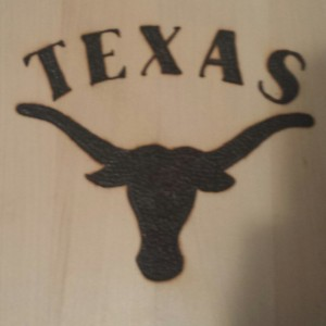 texas collage plaque