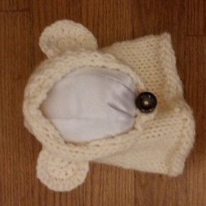 Custom Bear Cowl Hat