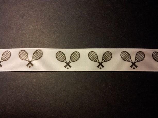 Tennis Gross Grain Ribbon