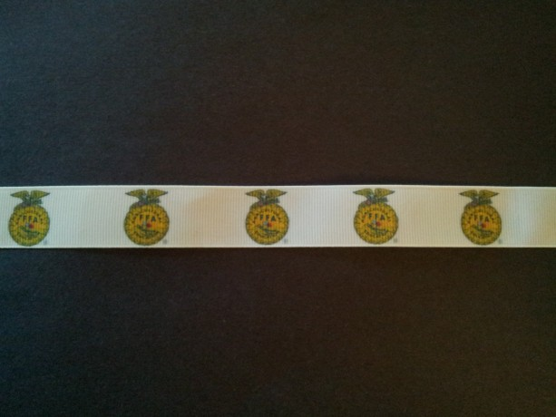 FFA Gross Grain Ribbon