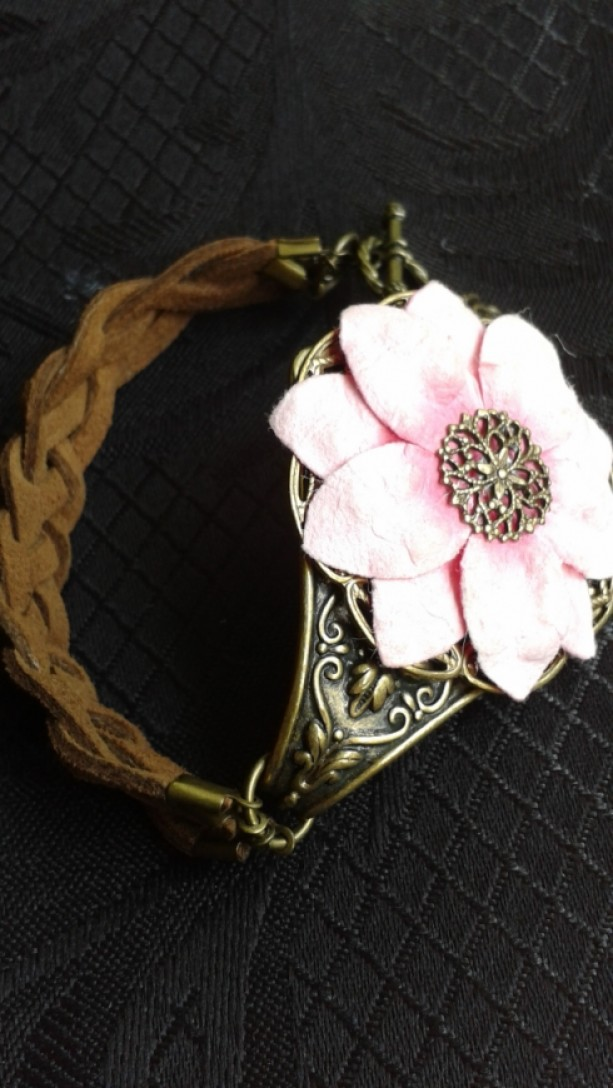 Pink Country Vintage Bracelet *35% off* (Was $42)