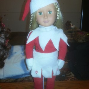 Elf on the Shelf Girl Elf Addition Outfit