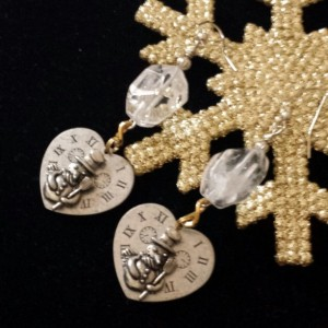 Frosty the Snowman Earrings